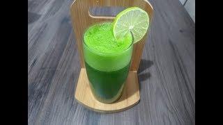 Como fazer suco verde detox para desinchar