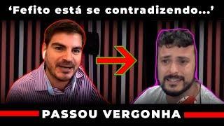Constantino Faz Fefito Passar Vergonha 'você está concordando com conservador' Morning Show Ao Vivo