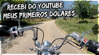 Recebi pela primeira vez do YouTube - VDM 176 #vivodemoto