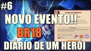 HERO ZERO DIÁRIO DE UM HERÓI #6 NOVO EVENTO!!  BR18 + TORNEIO XP