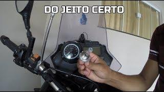 COMO TROCAR A LAMPADA DE FAROL DA TENERE 660 #DIEGOCM
