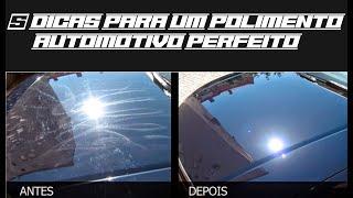 Como fazer um polimento automotivo perfeito