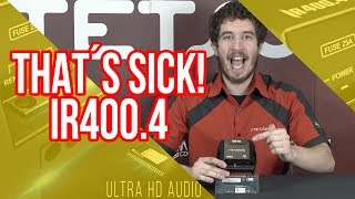 4 Channels CAR AUDIO AMPLIFIER  IR400.4 - STETSOM / 400 Watts