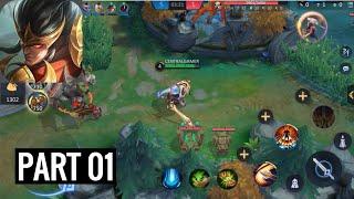 Champions Legion (Teste Alfa) | MOBA 5v5 - Android Gameplay Part 1 - Walkthrough