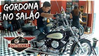 Dia de dar aquele trato na Drag Star 650cc na OUTSIDERS Indaiatuba VDM 173 #vivodemoto #outsidersind