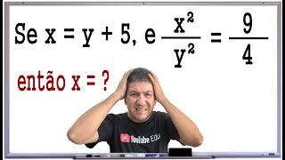 PROBLEMA DE MATEMÁTICA COM RAZÃO E PROPORÇÃO - Prof. Robson Liers - Mathematicamente