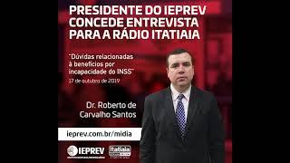 Dr. Roberto de Carvalho Santos - Entrevista  Rádio Itatiaia