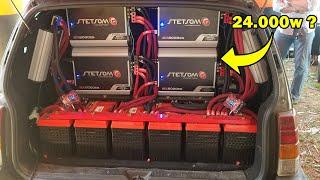 Stetsom EX 6000 tocando 8 de 3000
