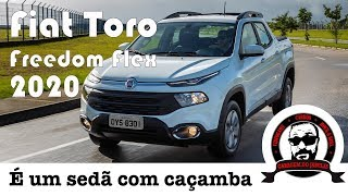 FIAT TORO FREEDOM FLEX 2020 - PREÇOS, CONTEÚDOS E CONSUMO