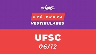 PRÉ-PROVA VESTIBULAR UFSC 2019