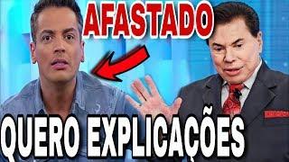 Léo Dias fala sobre SUSPENSÃO do Fofocalizando e pede explicações