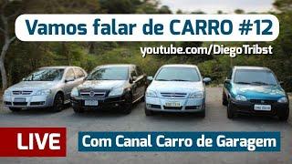 LIVE - Vamos Falar De CARRO #12 Ft. Canal Carro De Garagem