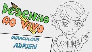 Aprenda a Desenhar Miraculous | Adrien em estilo chibi