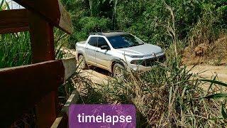 200 km de chão fiat toro freedom 1.8 - Timelaspe
