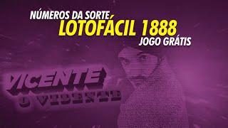 Números da sorte para Lotofácil 1888 (sábado, 09/11)   Jogo grátis aqui!