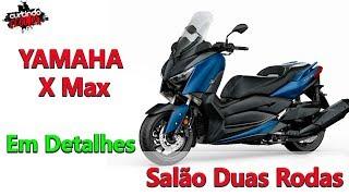 Yamaha X Max em Detalhes | Lançada no Salão Duas Rodas | Mais da Parceiria da Yamaha e Marvel.