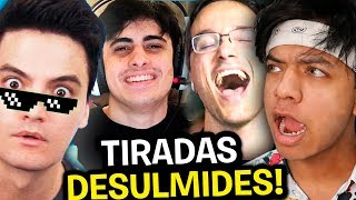 YOUTUBERS ESTÃO DESUMILDES!!! **Melhores Tiradas Dos Youtubers**