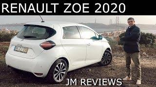Renault ZOE 2020 - Parece Que Não... Mas Ainda Mudou BASTANTE!! - JM REVIEWS 2019