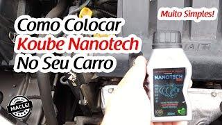 COMO COLOCAR NANOTECH NO SEU CARRO, APLICANDO CONDICIONADOR DE METAIS!