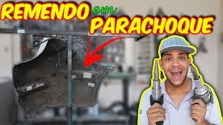 REMENDO NO PARACHOQUE - PINTURA AUTOMOTIVA