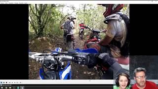 """LIVE - """"React"""" Aos Vídeos da Trilha de Hoje! Yamaha TTR 125L - Lucas Leite em Ação"""