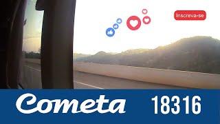 Cometa GTV 18316 voando baixo na via 040 | Marcopolo Paradiso 1800 DD G7 Scania K440
