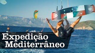Kitesurf no Mediterrâneo | APP Canal OFF