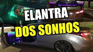 """ELANTRA SOCADO DE SOM  NO ACRILICO E RODAS 20"""""""