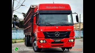 Mercedes Benz Atego 2426 6x2 Boiadeiro Completíssimo!!!