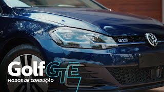 Golf GTE l Unboxing l Modos de Condução l VWBrasil