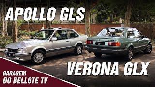Apollo GLS (33 mil km) e Verona GLX (42 mil km), ícones da Autolatina | Garagem do Bellote TV
