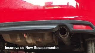 Honda City Sport 1.5 Abafador Inox Saída 3 Polegadas + Escape Esportivo - New Escapamentos