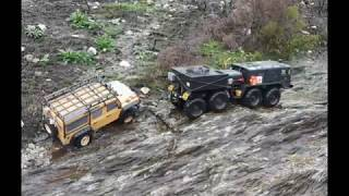 Mammoth BC8 & Land Rover in search of the Yellow Duck