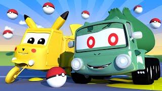 Pequeno Charlie é Bulbassauro do Pokemon! -  Oficina de Pintura do Tom - Desenhos Animados ? ?