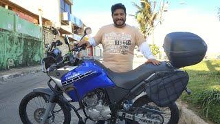 Review Yamaha Tenere 250 preparada para viagens longas