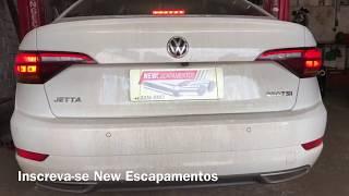 Jetta 250TSI 1.4 Turbo Downpipe Ganho De Potência + Escape Esportivo - New Escapamentos