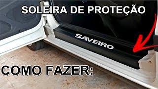 Soleira de Proteção para Porta (Carros)