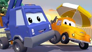 Tom, o caminhão de reboque - . O cesto do Chuck derreteu -  Cidade do Carro ? Desenhos Animados.