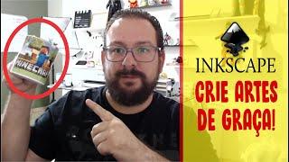 INKSCAPE - Editor gratuito - Fiz a arte de caneca nele!