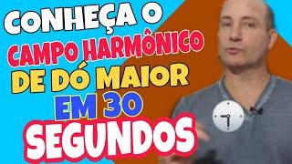 ?DICAS RÁPIDAS #116   CONHEÇA O CAMPO HARMÔNICO DE DÓ MAIOR EM 30 SEGUNDOS ? ALEX FREITAS