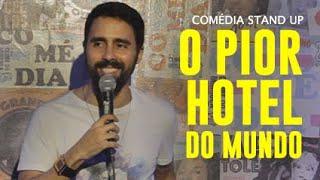 FIQUEI NO PIOR HOTEL DO MUNDO - BRUNO COSTOLI | STAND UP NO CLUBE DO MINHOCA