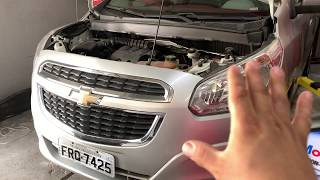 Chevrolet Spin, troca do fluido da transmissão automática.
