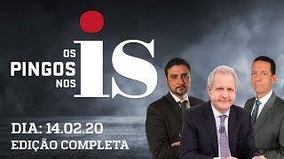 Os Pingos Nos Is - 14/02/2020 - Assassinatos caem / Gleisi x Heleno / O custo Lula