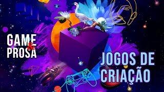 GAME & PROSA AO VIVO: Vamos jogar Dreams e conversar sobre games de criação!