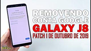 Removendo Conta Google do Samsung Galaxy J8 (Patch 2019) #UTICell
