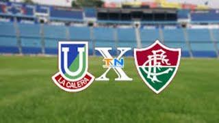 Unión La Calera 0 x 0 Fluminense Ao Vivo | Sul-Americana 2020 |