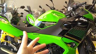 Nova moto do canal! KAWASAKI Ninja 400 modelo 2020! Revisão dos 1000 km