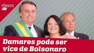 Damares pode ser vice de Bolsonaro em 2022