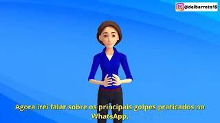 IMPORTANTE! Novos alertas do Delegado Alessandro Barreto contra golpes no Whatsapp!