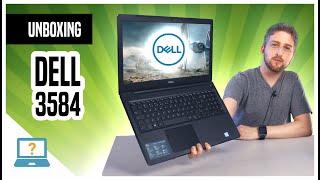 Unboxing Notebook Dell Inspiron 15 3000 3584ML1P bom e barato com Core i3 com SSD incluso Office 365